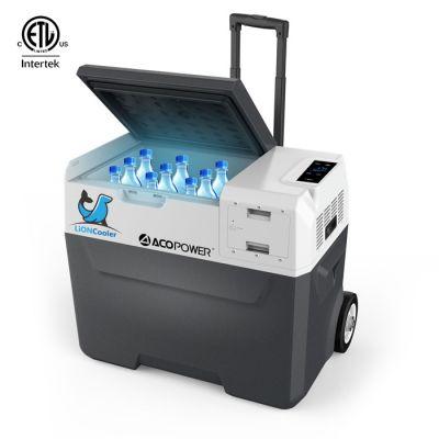 Car Refrigerator Portable Fridge Freezer 52 Quarts, 42 Quarts, 32 Quarts
