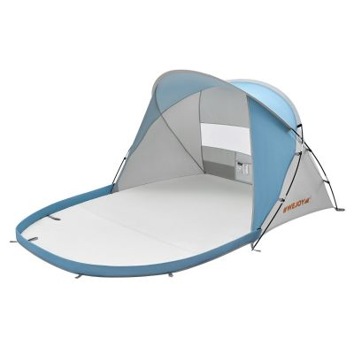 WEJOY XL Pop Up 3-4 Person Extendable Floor Family Beach Shade Tent Sun Shelter With Carry Bag