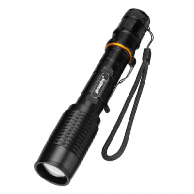 Telescopic Zoom LED Flashlight, Rechargeable Flashlights for Camping, Outdoor, Emergency, dailylife