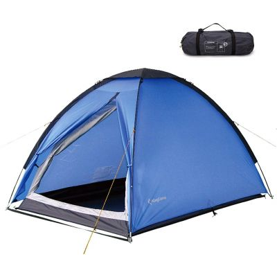 KingCamp 2-Person 3-Season Double Layer Dome Tent Lightweight Portable Durable Waterproof Backpacking Tent for Camping