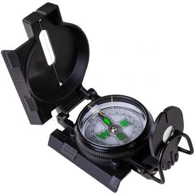 KingCamp Professional Multifunctional Compass Sighting Navigation Compass for Outdoor Camping Hunting Hiking Metal Compass