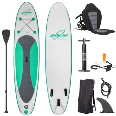 inflatable paddleboard green