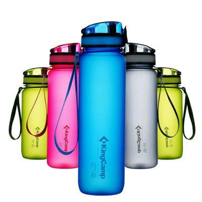 KingCamp TRITAN Water Bottle Wide Mouth Leak Proof BPA-FREE Snap Cap KA1139