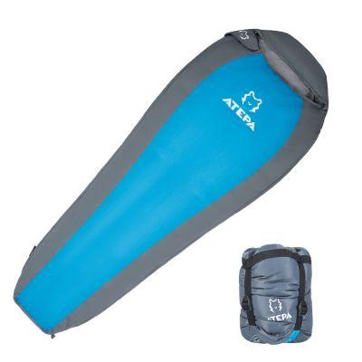 ATEPA 0 Degree C / 32 Degree F 3 Season Warm Weather Backpacking Mummy Lightweight Compact Sleeping Bag