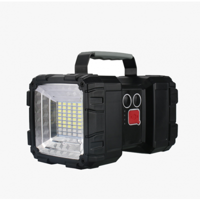 Rechargeable Spotlight - Large 40W Power super bright With USB output Flashlight for outdoor camping