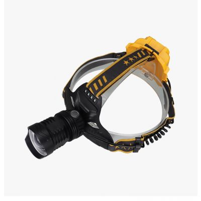 Brightest High 2000 Lumen LED Headlamp,18650 USB Rechargeable IPX4 Waterproof with Zoomable Work Light