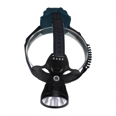 Brightest High 3500 Lumen LED Headlamp,18650 USB Rechargeable IPX4 Waterproof Headlamp for Camping