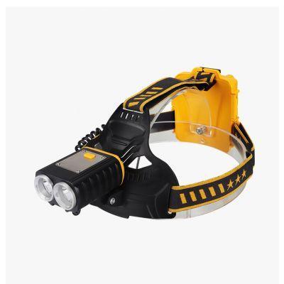 Brightest High 2500 Lumen LED Headlamp,18650 USB Rechargeable IPX4 Waterproof Flashlight