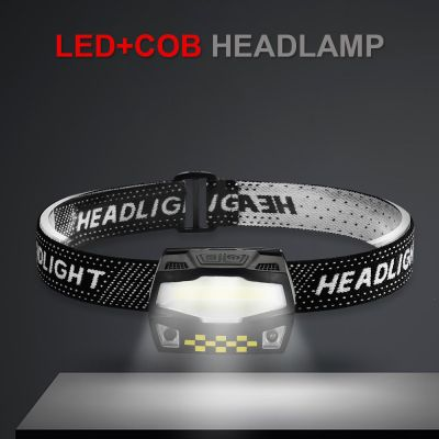LED Headlamp, USB Rechargeable LED Head Lamp, Head Light for Camping Fishing and Outdoor