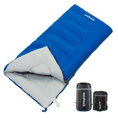 KingCamp 3 Season Multipurpose Lightweight Comfort Portable Square Envelope Camping Sleeping Bag
