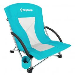 cyan beach chair low back