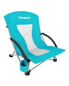 KingCamp Low Sling Beach Chair Folding Lightweight Camping Lawn KC3841