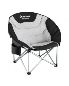 KingCamp Moon Saucer Steel Camping Chair with Cooler Bag KC3989